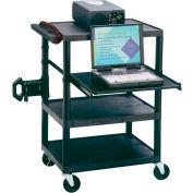 Quartet® Duracart™ Media Projector Cart W/Laptop Shelf