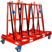 """Abaco One Stop A-Frame Truck OSA7247 71-1/4""""L x 43-1/4""""W x 62-3/8""""H"""