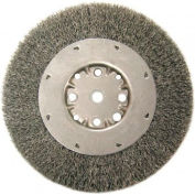Medium Face Crimped Wire Wheels-DMX Series-1 Dense Section, ANDERSON BRUSH 01554