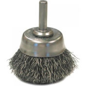 Crimped Wire Cup Brushes-Nh Series-Hollow End, Anderson Brush 06621 - Pkg Qty 5