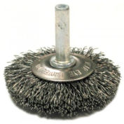 Stem Mounted Flared Crimped Wire Cup Brushes-SSMF Series, ANDERSON BRUSH 09034, CTN of 10