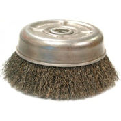 Crimped Wire Cup Brush For Small Angle Grinders-UC & UCX Series, ANDERSON BRUSH 10325
