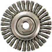 Stringer Bead Knot Wire Wheels-STCM Series-Very Narrow Face, ANDERSON BRUSH 11215