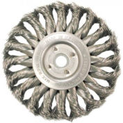 Medium Face Standard Twist Knot Wire Wheels-TS & TSX Series, ANDERSON BRUSH 13674