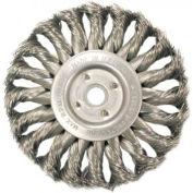 Medium Face Standard Twist Knot Wire Wheels-TS & TSX Series, ANDERSON BRUSH 13884