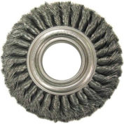 Wide Face Standard Twist Knot Wire Wheels-TW Series-Carbon Steel, ANDERSON BRUSH 14864