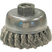 Knot Wire Cup Brushes For Small Angle Grinders-US & USC Series, ANDERSON BRUSH 17195