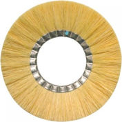 Tam-N Untreated Tampico Non-Metallic Wheel Brushes, Anderson Brush 27310 - Pkg Qty 5
