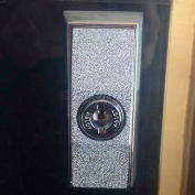 Bike Locker Option-Master Keyed Chrome Plated T-Handle Locks With Abloy High Security Cylinders