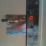 Bike Locker Opt.-Coin Operated Locks With Locking Bar System