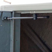 Bike Locker Opt.-Door Hold/Check, For Padlock Handle, Coin-Operated Locks, Or U-Lock/D-Lock Only