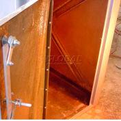 Bike Locker Option-301 Lockers Floor, Fiberglass Composite, Installed At Factory