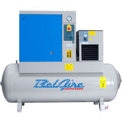 Belaire BR10253D Rotary Screw Compressor with Dryer, 10HP, 120 Gallon, 125 psi