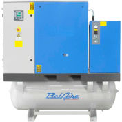 Belaire BR20253D Tank Mount Rotary Screw Compressor With Dryer, 20HP, 120 Gallon