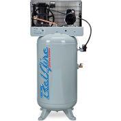Belaire 218V, 5 HP, Two-Stage Compressor, 80 Gallon, Vertical, 175 PSI, 15.3 CFM, 1-Phase 208-230V