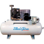 Belaire 338H Two Stage Horizontal Air Compressor, 5HP, 80 Gallon