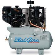 Belaire 3G3HKL, 14HP, Stationary Gas Compressor, 31 Gal, 175 PSI, 25.3 CFM, Kohler, Electric/Recoil