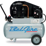 Belaire 8090250041 Single Stage Portable Air Compressor, 2HP, 20 Gallon