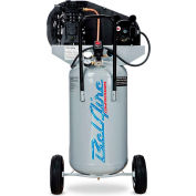 Belaire 8090250042 Single Stage Vertical Portable Air Compressor, 2HP, 26 Gallon