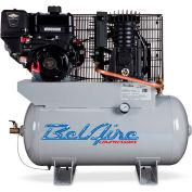 Belaire 8090250052 Briggs Vanguard Gasoline Driven Horizontal Air Compressor, 9HP, 30 Gallon