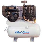 Belaire 8090250053 Subaru/Robin Gasoline Driven Horizontal Air Compressor, 9HP, 30 Gallon