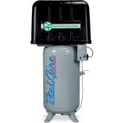 Belaire 8090250252 Quiet Performance Two Stage Vertical Air Compressor, 7.5HP, 80 Gallon