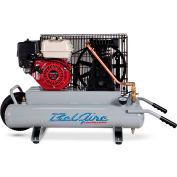 Belaire 8090250705 Contractor Series Honda Gasoline Driven Air Compressor, 5.5HP, 2 x 4 Gallon