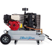Belaire 8090250706 Contractor Series Honda Gasoline Driven Air Compressor, 9HP, 2 x 5 Gallon
