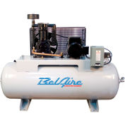 Belaire 338H4 Two Stage Horizontal Air Compressor, 5HP, 80 Gallon