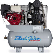 Belaire 8090253108 Iron Series Honda Gasoline Driven Horizontal Air Compressor, 11HP, 30 Gallon