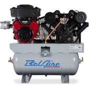 Belaire 8090253900 Iron Series Vanguard Gasoline Driven Horizontal Air Compressor, 16HP, 30 Gallon
