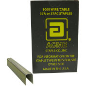 "Acme 37A-1/2 Galvanized Staple 1/2"" Leg Length for Acme 37A Staple Gun"