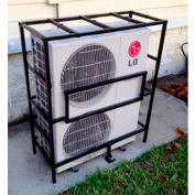 AC-Guard™ Mini-Split Air Conditioner Cage Unit - ACMS, Steel, Black