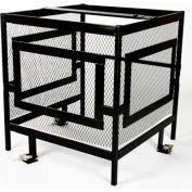 AC-Guard™ Air Conditioner Mega Cage Unit Kit, - MACGU KIT, Steel, Black