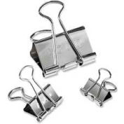 Acco® Steel Presentation Clips, Assorted Sizes, Silver, 30/Pack