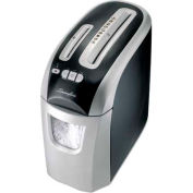 Swingline® EX12-05 Personal Cross Cut Shredder, 10 FPM, Black/Silver