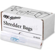 Swingline® 19-Gallon Plastic Shredder Bag For Departmental Shredders, 25 Bags/Pack