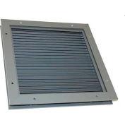 """Steel Door Louver 16"""" x 8"""" - SDL 16x8"""