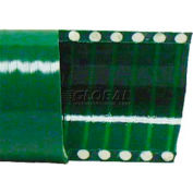 """6"""" x 20' Green PVC Water Suction Hose Assembly Coupled w/ C x E Aluminum Cam & Groove Couplings"""
