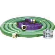 "4"" Transfer Pump Hose Kits w/ Aluminum Couplers and Fittings"