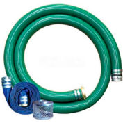 "1-1/2"" Trash Pump Hose Kits w/ Aluminum Couplings and Fittings"