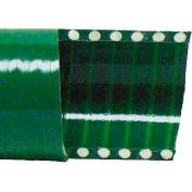 "6"" Green PVC Water Suction Hose, 100 Feet"