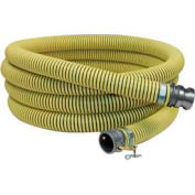 "6"" Reinforced PVC Suction Hose, 80 Feet"