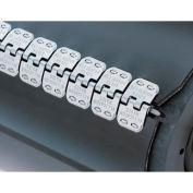 "18"" Ready Set Staple Belt Lacing, Galvanized  (Rs62j18) - 4 Pack"