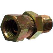 "Apache Hydraulic Adapter 39004300, 3/8"" Male Pipe X 1/2"" Female Pipe Swivel"