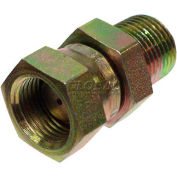 """Apache Hydraulic Adapter 39004380, 1/2"""" Male Pipe X1/2"""" Female Pipe Swivel 1/16 Restricted"""
