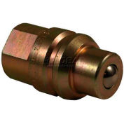 """Apache Hydraulic Quick Coupler 39041515, JD Old Style """"Cone"""" Male Tip (Ball) 3/4""""-16 Forb"""