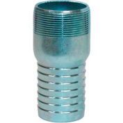 "Apache 43050575 1-1/2"" Plated Steel King Nipple"