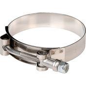 "Apache 43082022 3-1/8"" - 3-7/16"" Stainless Steel Ultra T-Bolt Clamp (UT - 313)"