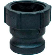 "4"" A Polypropylene Cam and Groove Adapter x Female NPT"